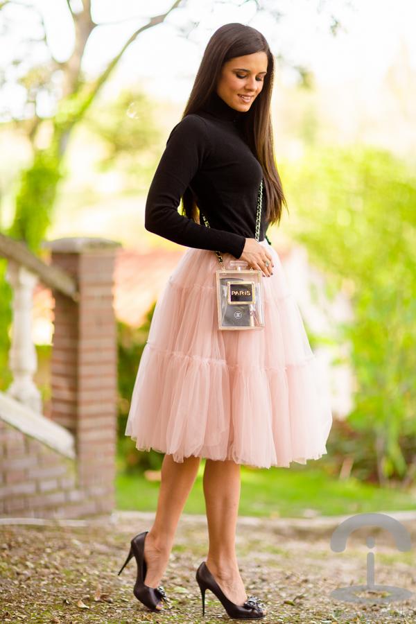 Bolso Perfume Moda La Rosa Falda Tul Crimenes De qZUWAxT
