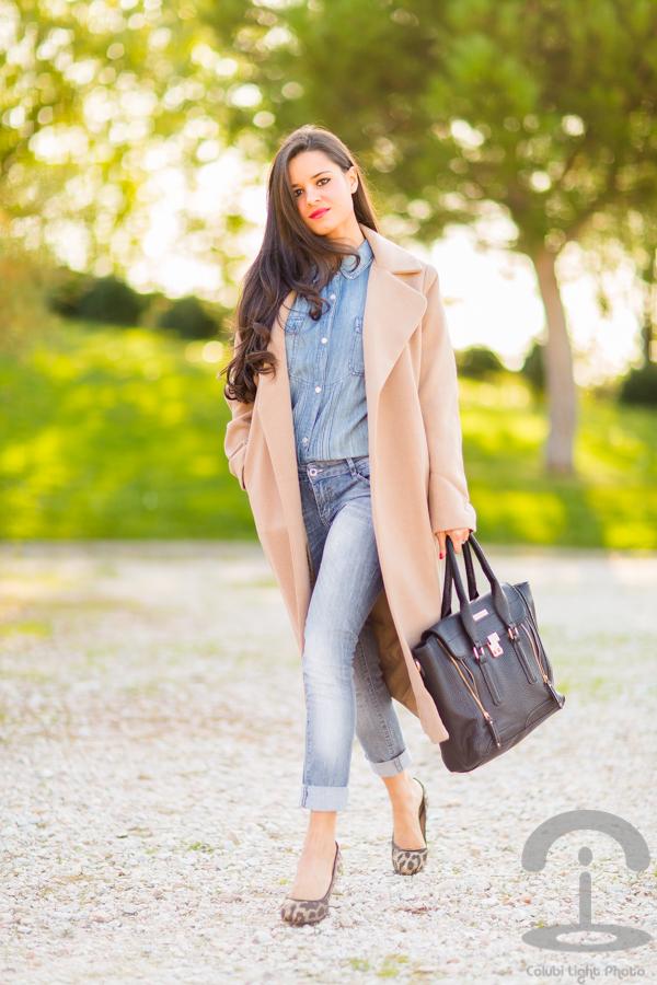 Maxi coat abrigo XXL Crimenes de la Moda