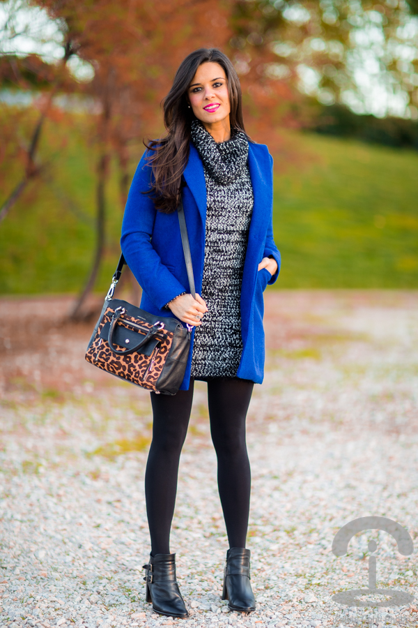 Blue coat Abrigo azul Crimenes de la Moda