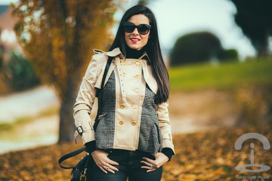 Tweed Trench Crimenes de la Moda Cuple Modalia