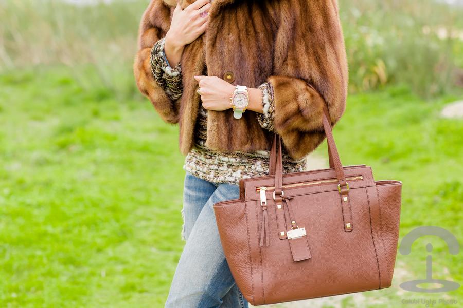 Abrigo de pelo Fur Coat Crimenes de la Moda