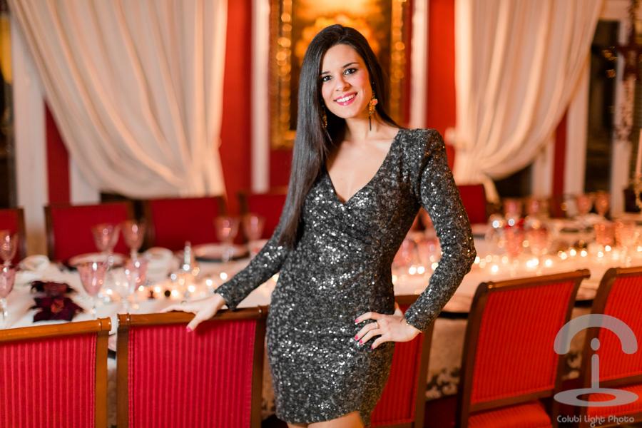 Look Nochevieja vestido lentejuelas Crimenes de la Moda