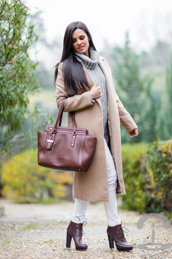 Abrigo Maxi coat Crimenes de la Moda