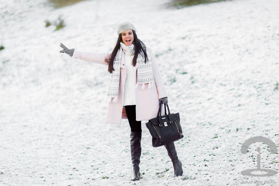 Look para un día de nieve Crimenes de la Moda