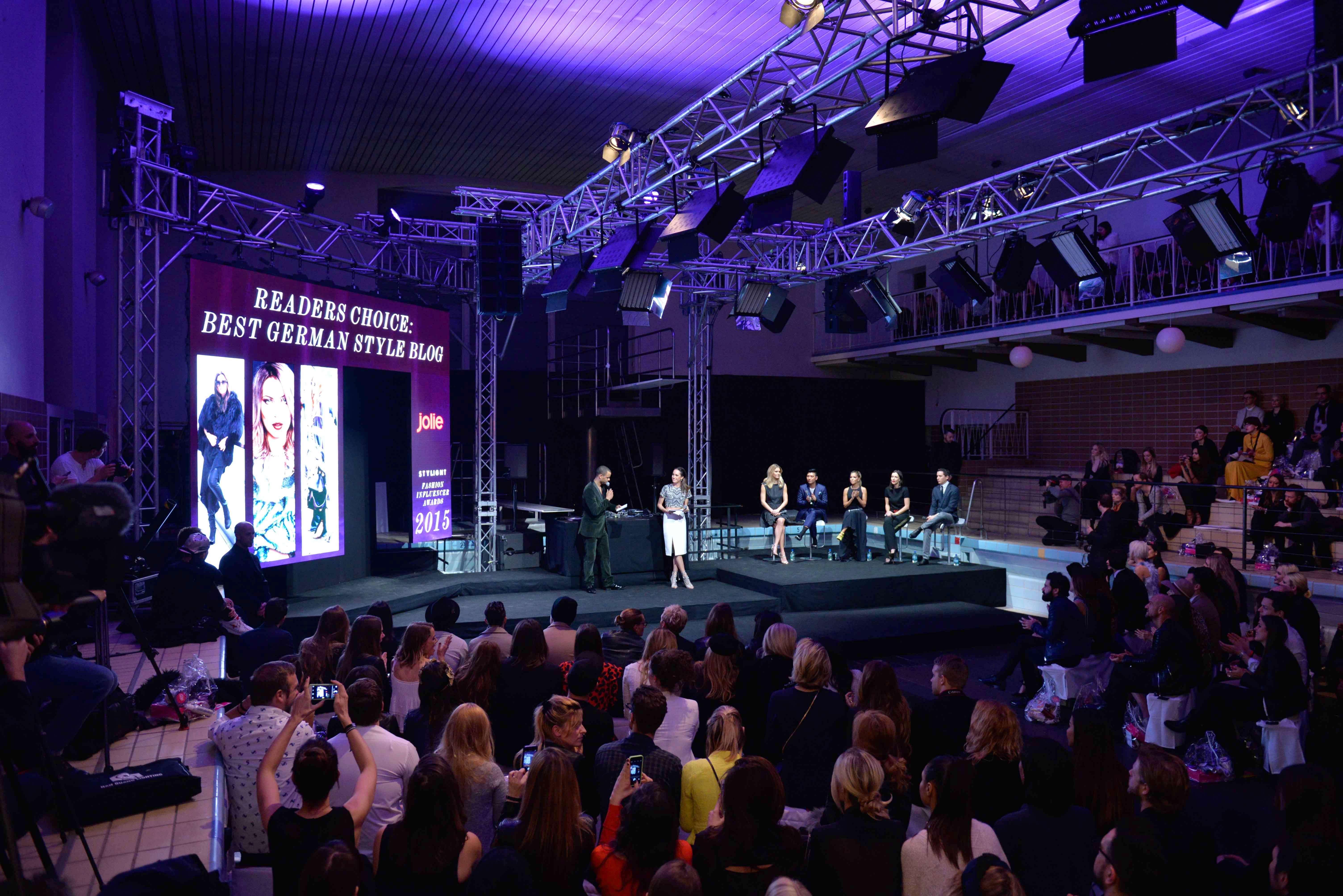 Stylight Fashion Influencer Awards 2015 in Berlin BOUEDIBELA, LOUISE ROE, BAR REFAELI, BRYANBOY, SYLVIE MEIS, ANITA TILLMANN, BENJAMIN GÜNTHER