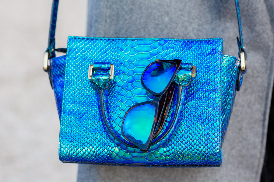 Metallic Leather Bag And other stories Choies Crimenes de la Moda