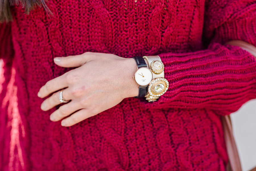 Daniel Wellington Viloop Marsala Nine West Crimenes de la Moda
