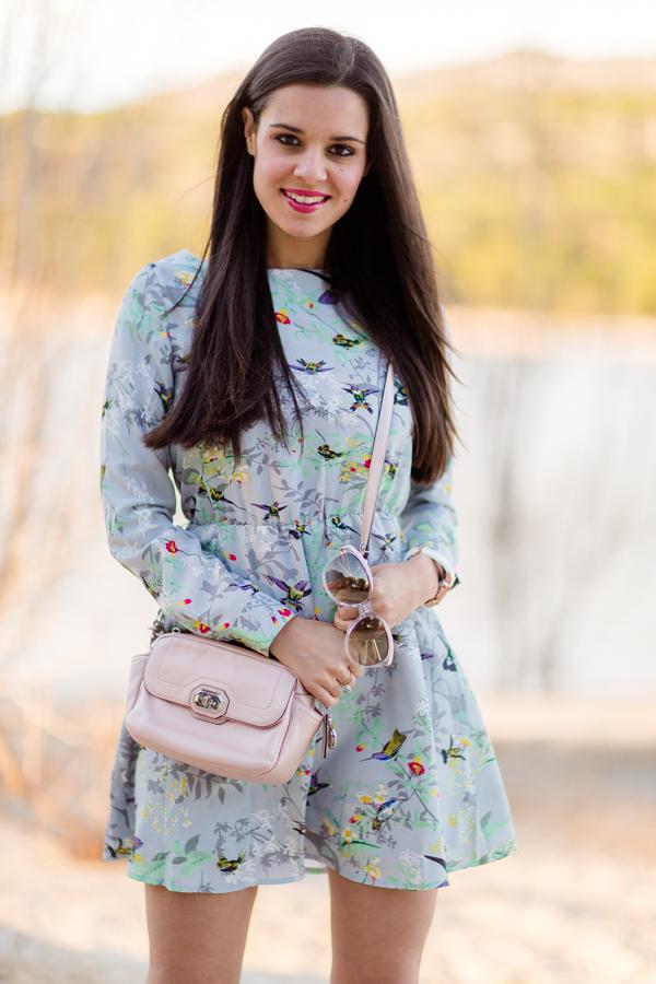 Spring dress vestido flores primavera Crimenes de la Moda