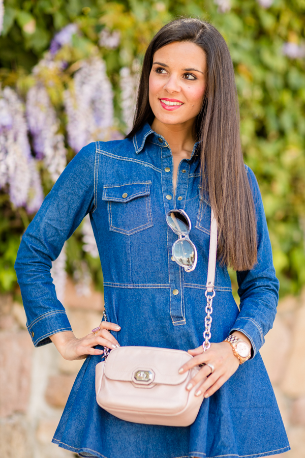 Little Denim Dress Vestido vaquero Crimenes de la Moda