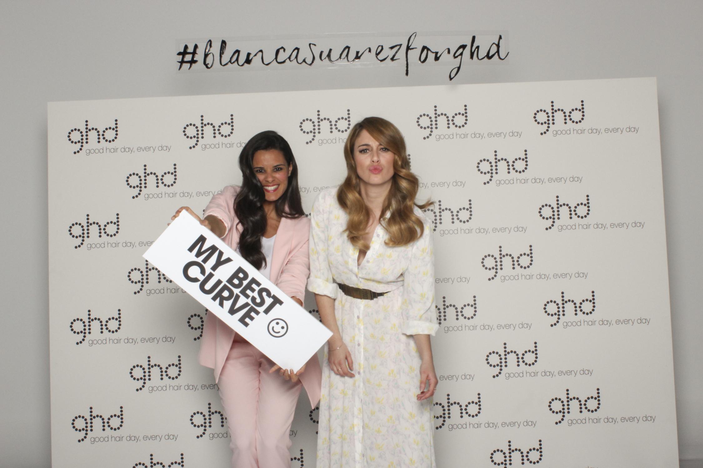 ghd curve Blanca Suarez Crimenes de la Moda