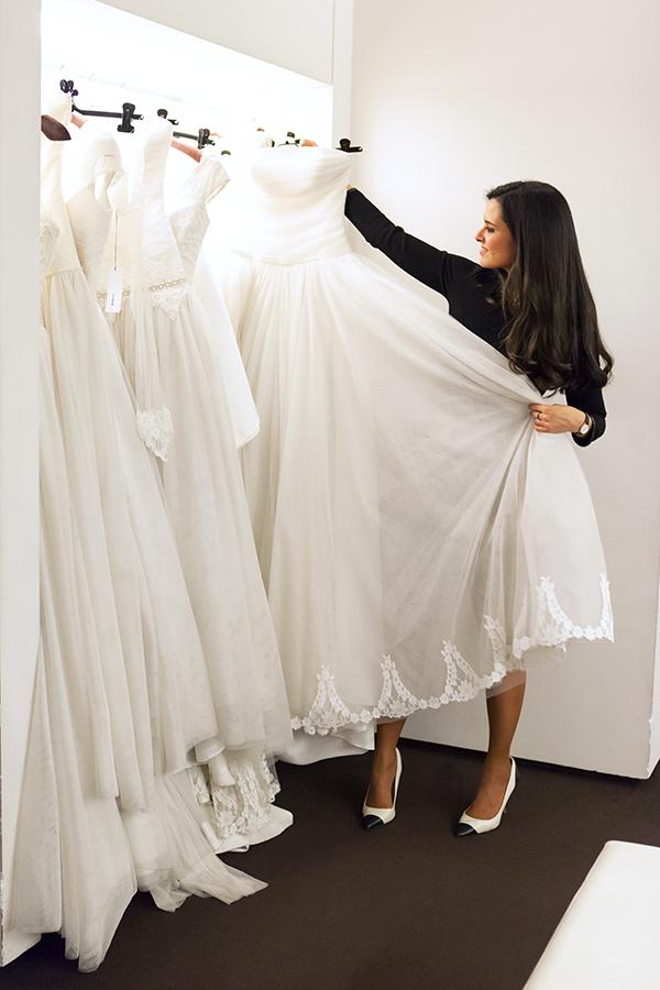Eligiendo mi vestido de novia en Hannibal Laguna Crimenes de la Moda