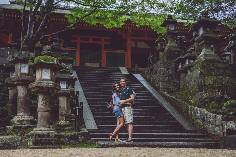 Osaka Nara Japón Viaje de novios Honeymoon Japan Crimenes de la Moda