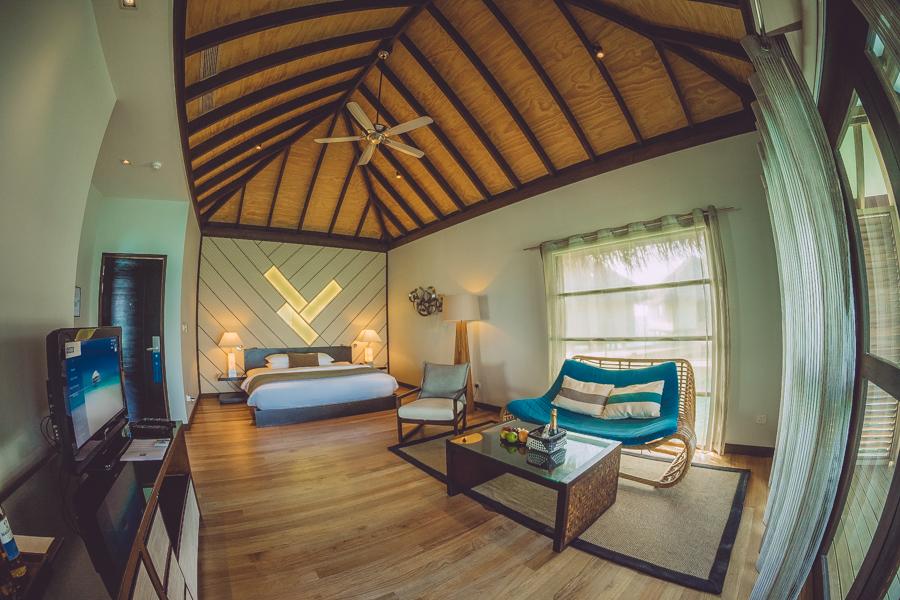 Maxi kimono Maldivas Velassaru Hotel Maldives Crimenes de la Moda