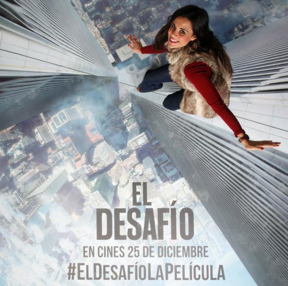 The Walk Premiere El Desafio Sony Pictures helipuerto Torre Picasso Philipp Petit Crímenes de la Moda blog