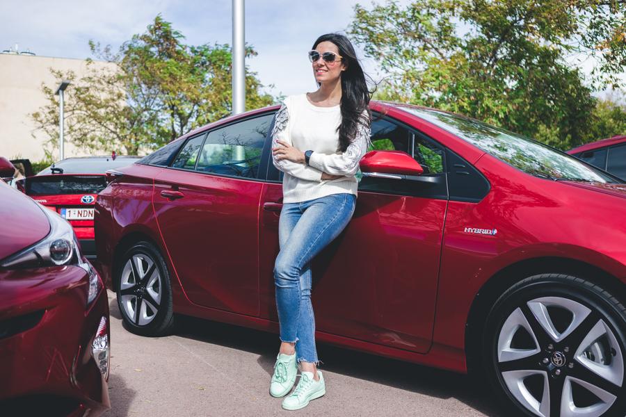 Toyota Prius Valencia City Tour #PriusLove Crimenes de la Moda blog