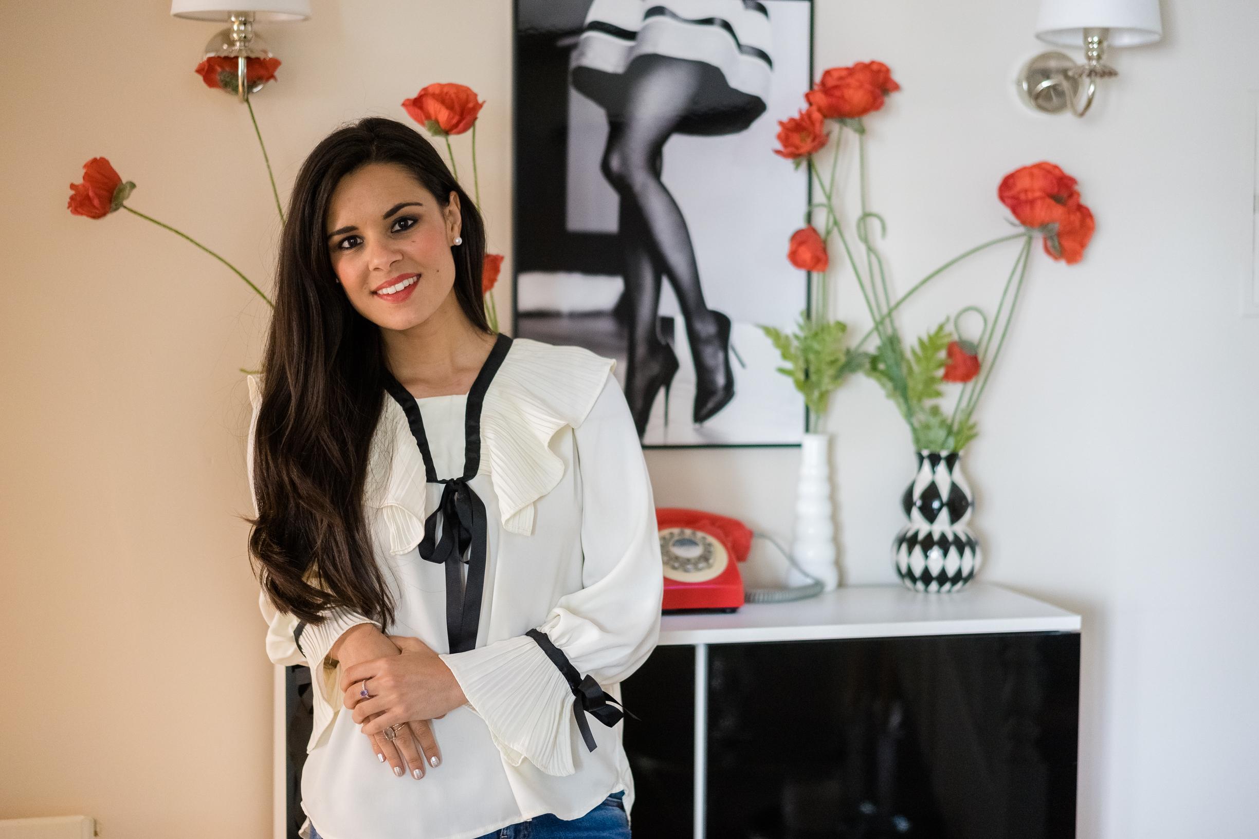 House tour blogger moda Crimenes de la Moda Maria Jesus Garnica Navarro