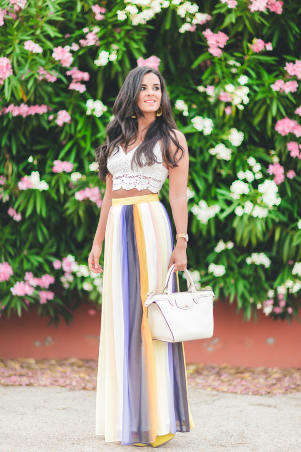 Multicolor Skirt-18381-crimenesdelamoda