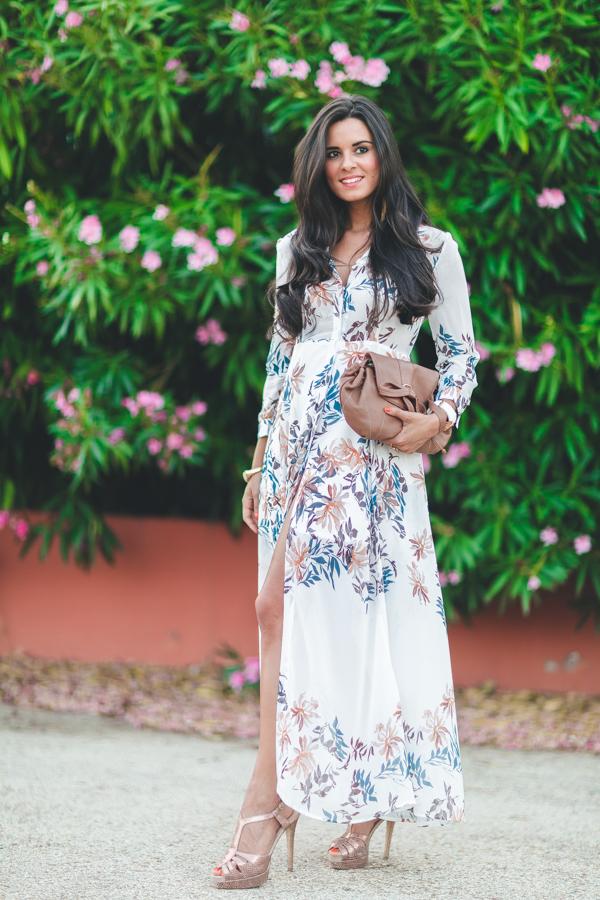Vestido camisero largo long shirt dress bolso See by Chloe handbag Crimenes de la Moda blog Maria Jesus Garnica Navarro