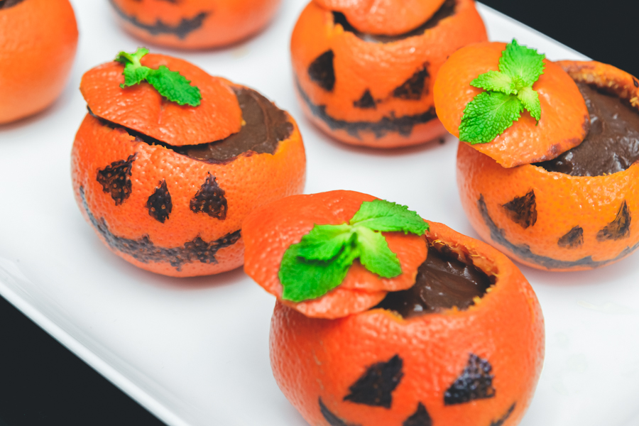 Video Recetas Dulces para Halloween Crimenes de la Moda Blueberries & Olives