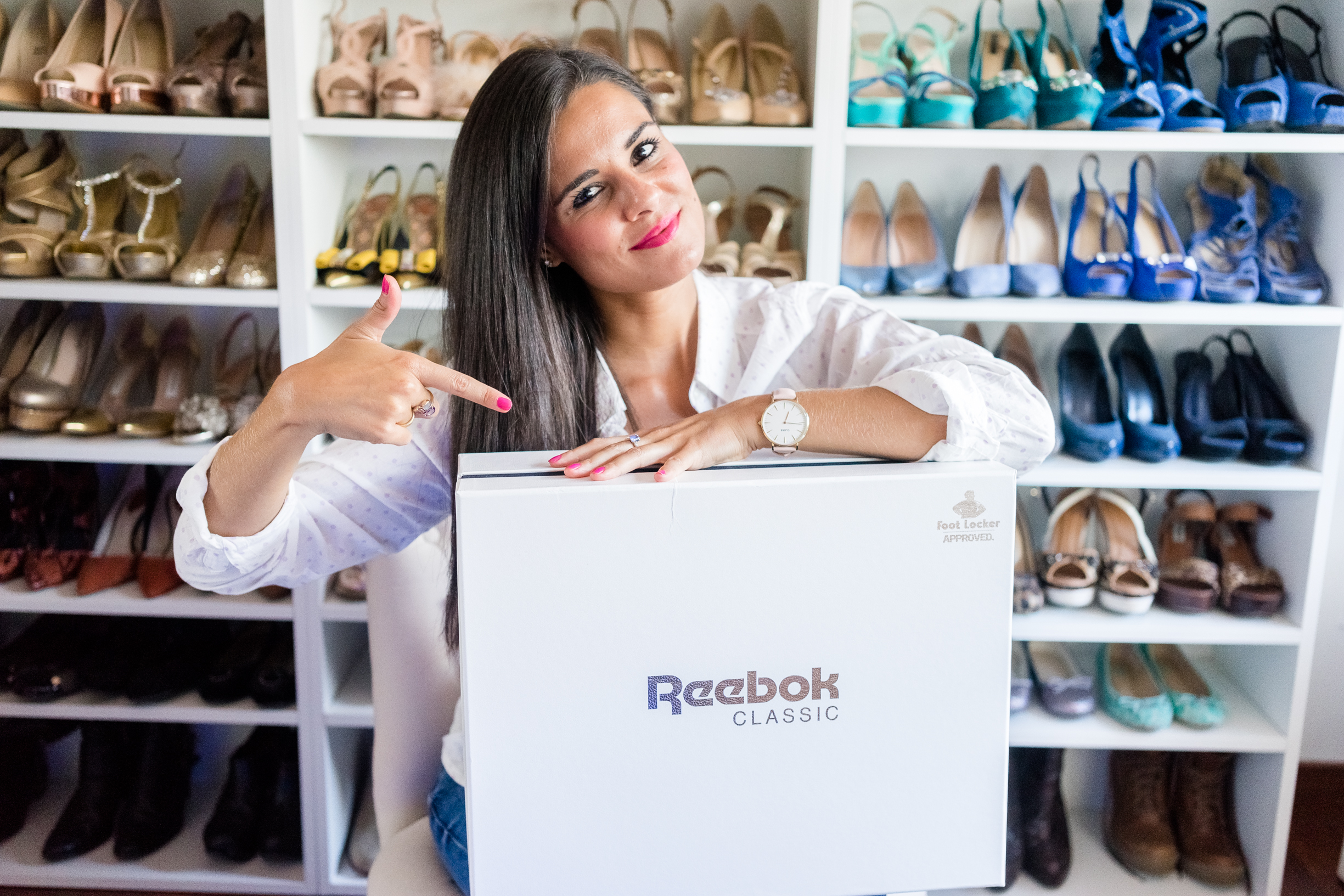 Video Unboxing Deportivas Reebok Crimenes de la Moda blog