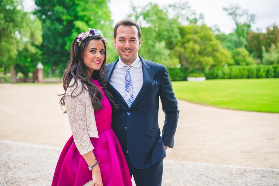 Look boda de dia septiembre Jorge de la Rosa Sisters tocados sandalias Pedro Miralles Crimenes de la moda blog