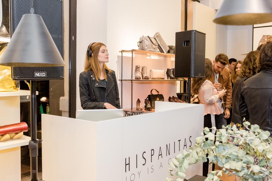 Hispanitas loves Madrid calzado zapatos botines apertura nueva tienda Velazquez Crimenes de la Moda blog