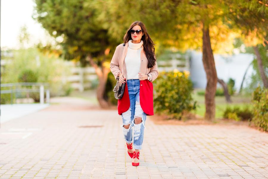 Destroyed jeans vaqueros rotos Crimenes de la Moda blog Maria Jesus Garnica Navarro