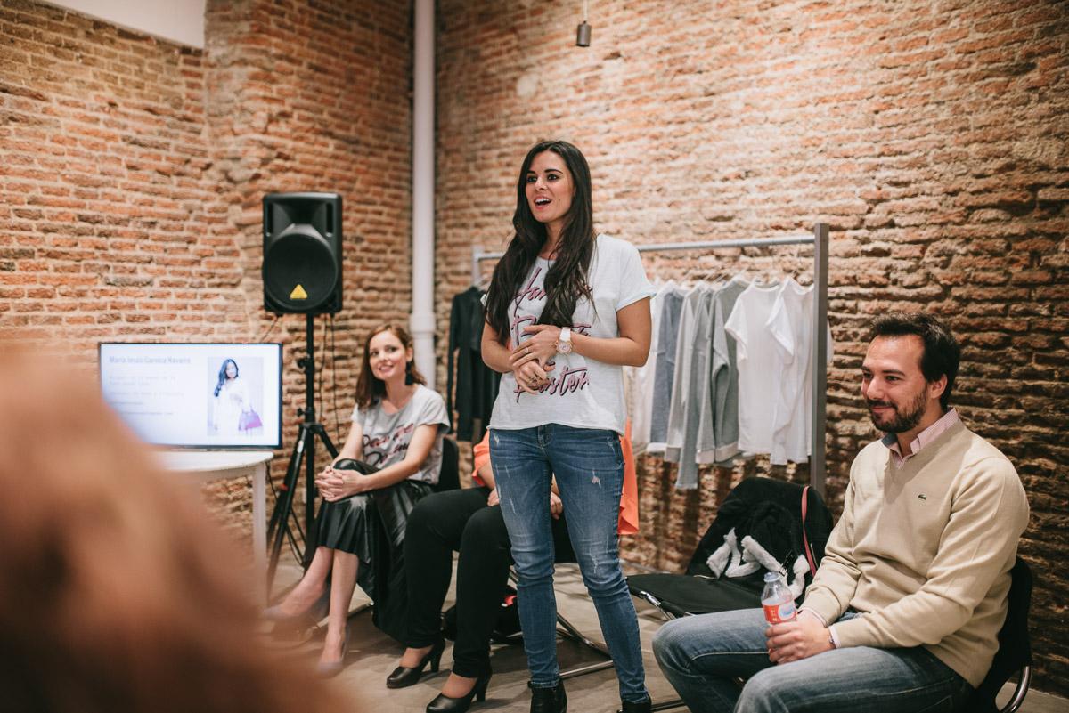 Evento Mola Ser Blogger #molaserblogger Fashion in the Street Crimenes de la Moda blog Dear Tee Maria Jesus Garnica Navarro Ramon Colubi