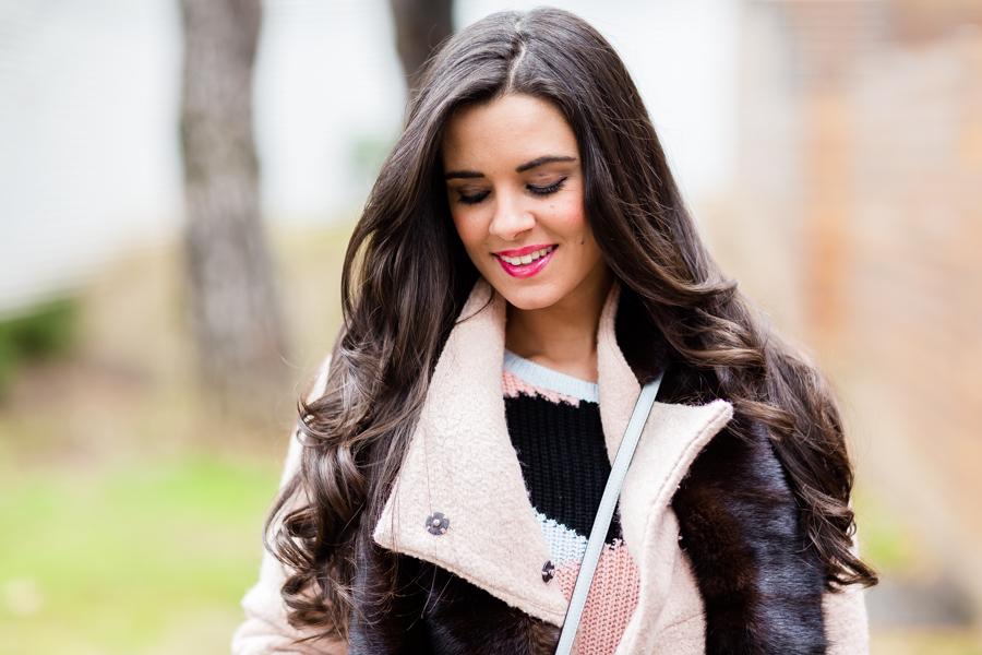 Cozy sweater look de invierno botas mosqueteras Crimenes de la Moda blog Maria Jesus Garnica Navarro