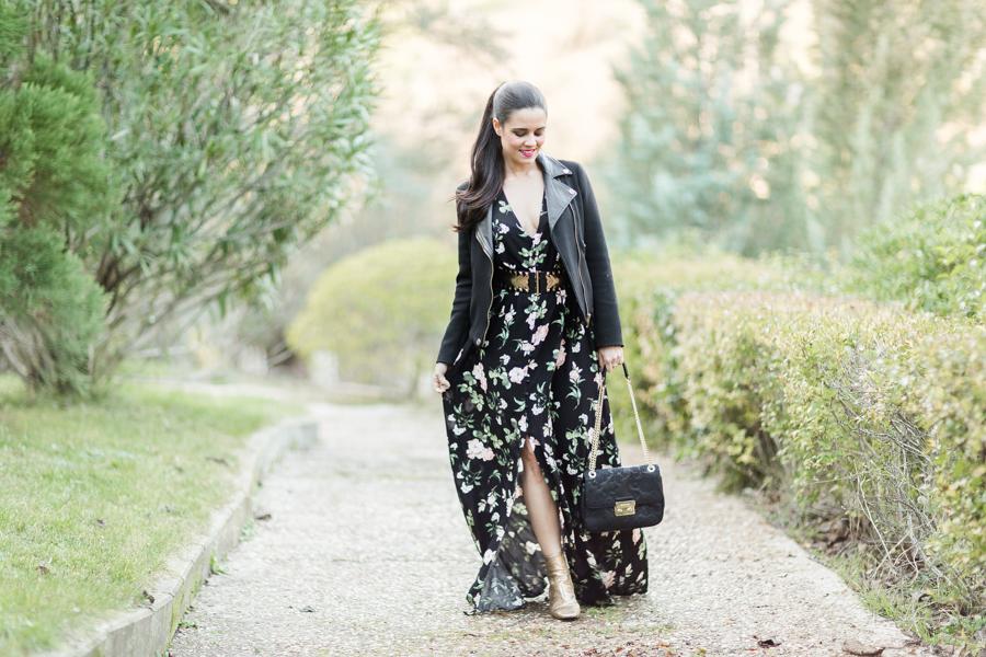 Maxi vestido invierno winter long dress Crimenes de la Moda blog Maria Jesus Garnica Navarro