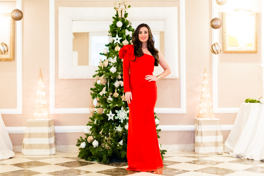 Look Nochevieja 2017 vestido largo rojo Remixance Crimenes de la Moda blog Maria Jesus Garnica Navarro