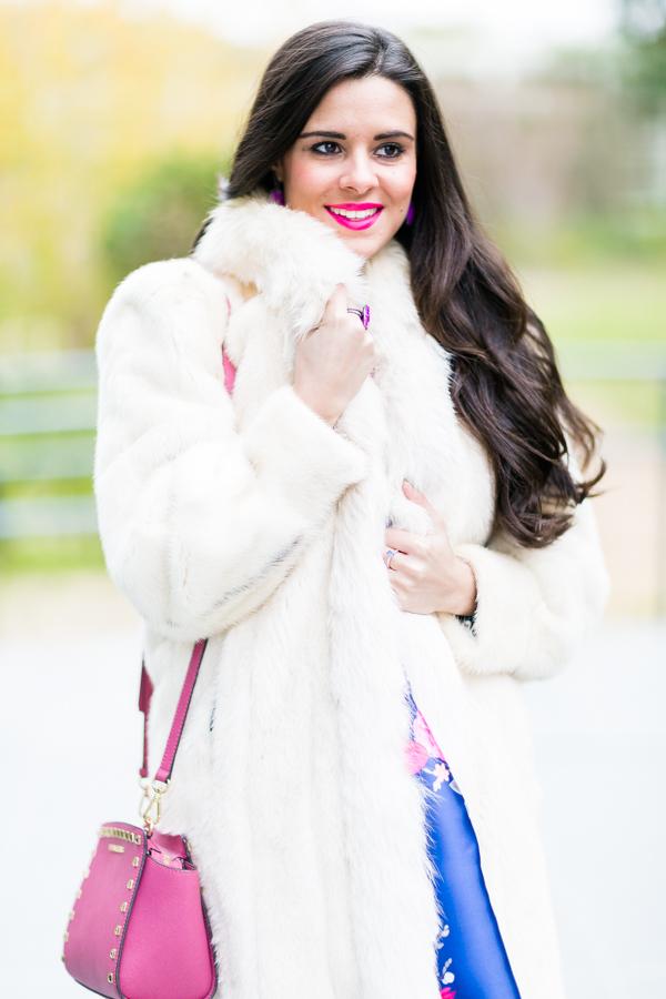 Look año nuevo vestido lady flores Crimenes de la Moda blog Maria Jesus Garnica Navarro