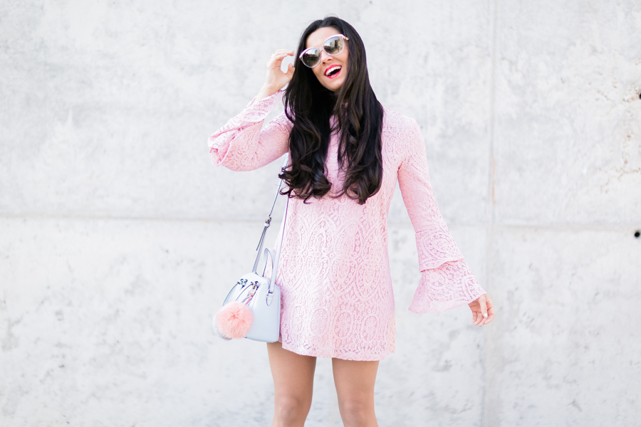Pink lace dress-22019-crimenesdelamoda