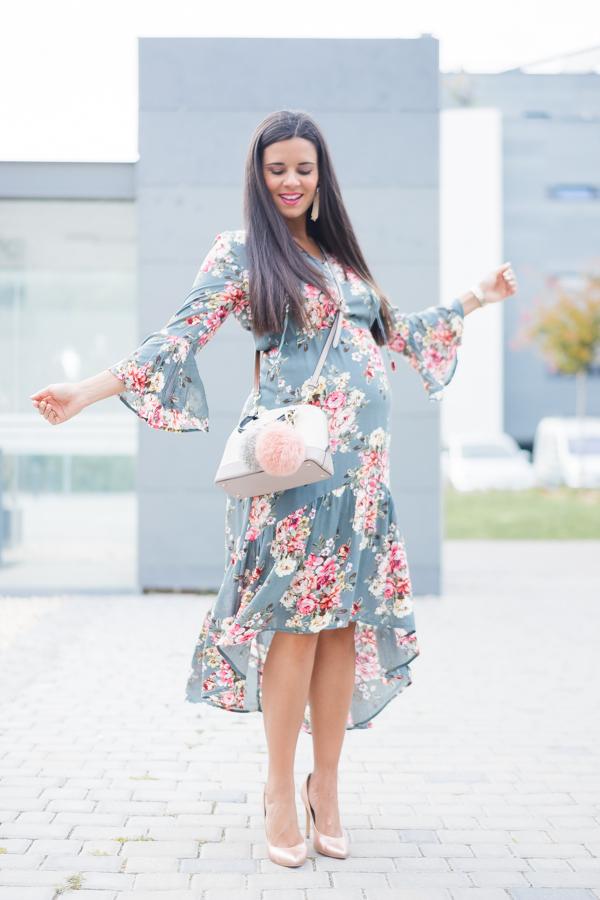 Vestido floral con volantes-25077-crimenesdelamoda