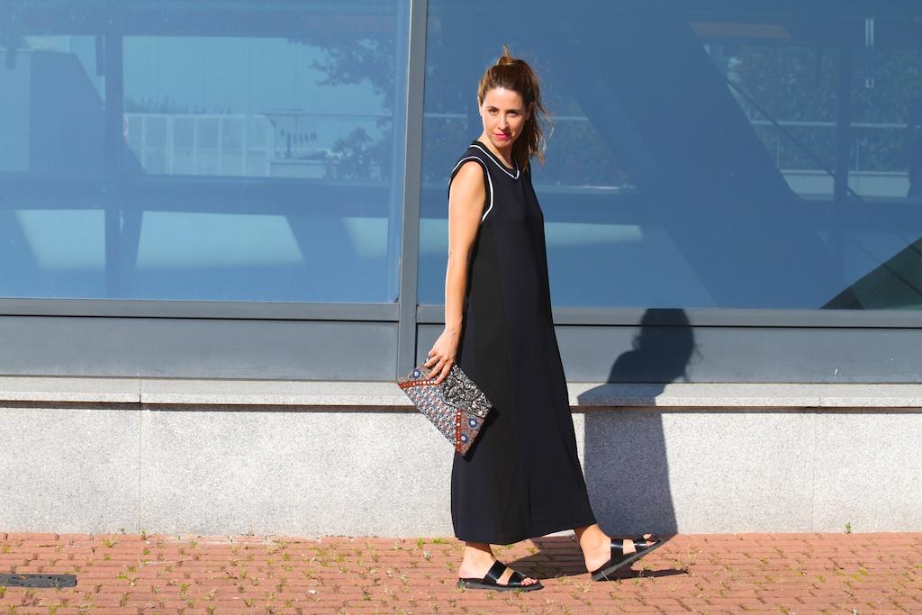 zara studio dress+bio sandal-