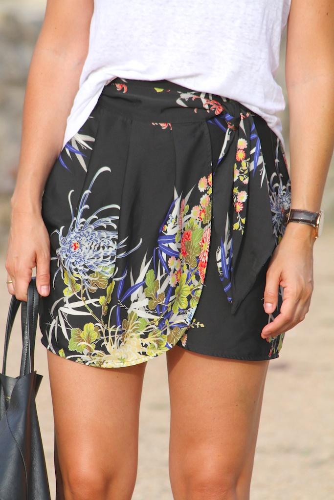 ISABEL MARANT t-shirt+bag CÈLINE+ZARA skirt.descalzaporelparque