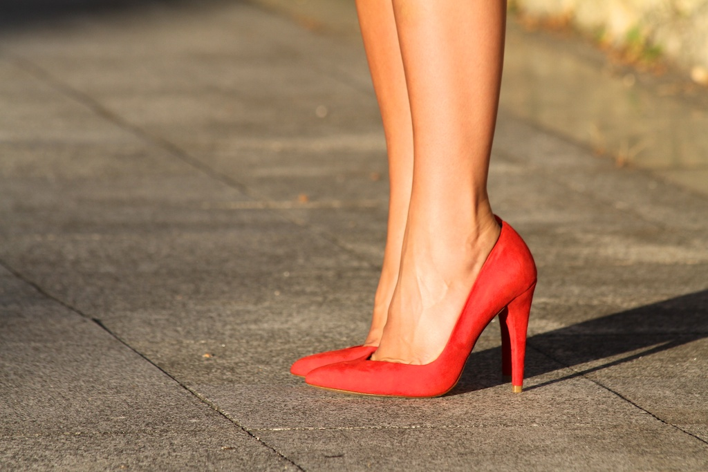 ZARA heels.descalzaporelparque