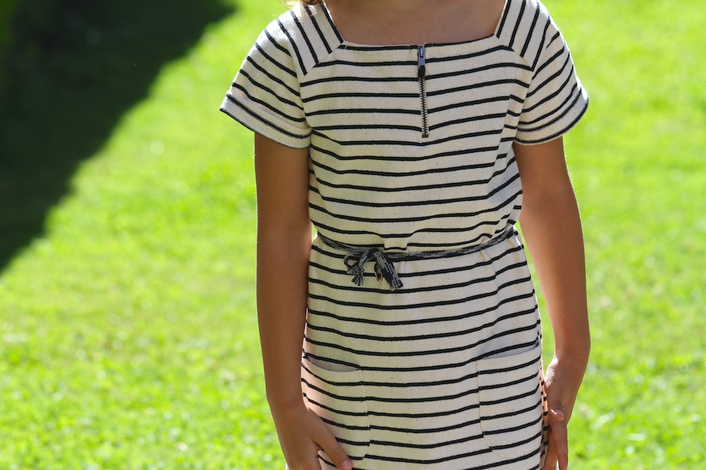 striped dress.kids .descalzaporelparque