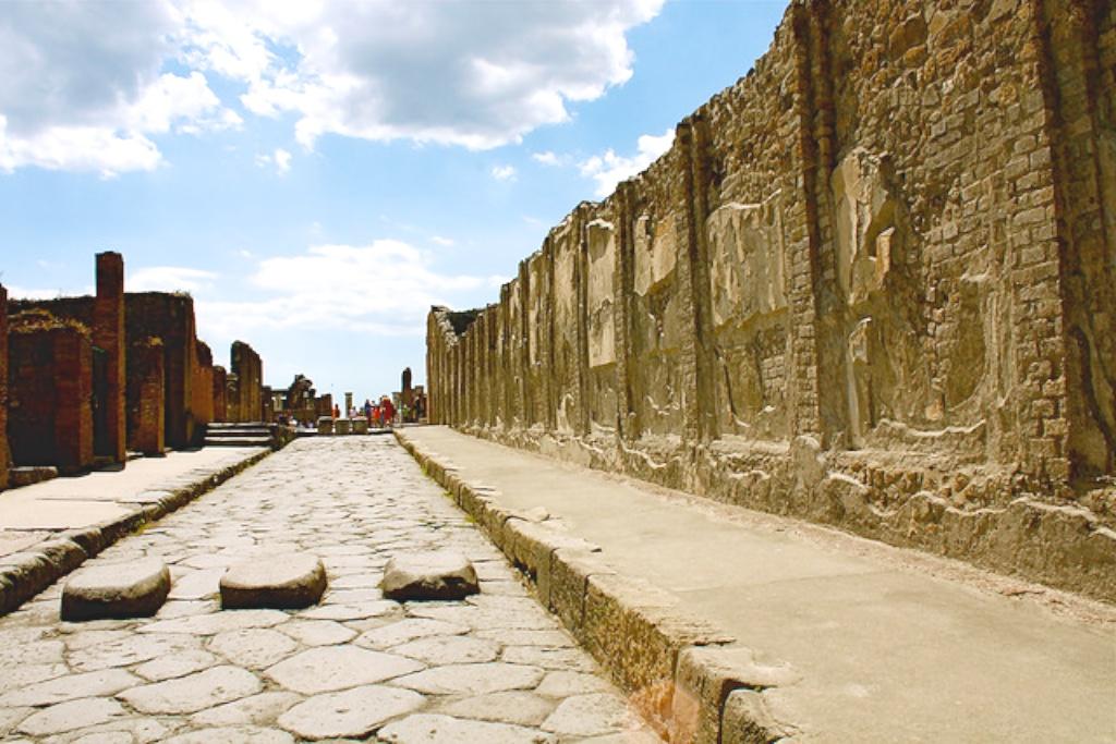 Ciudad-de-Pompeya-Italia