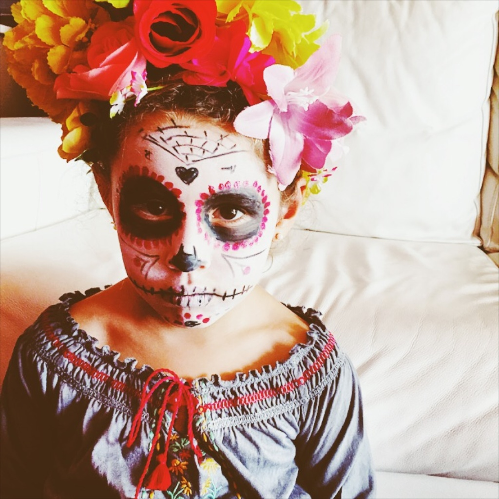 halloween, kids, costume, makeup, video,craft, jimena,descalzaporelparque