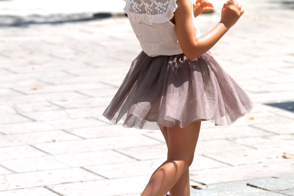 tulle skirt, kids, zara, jimena. zarakids ,fashion ,miniblogger. streetstyle, children, ministyle,descalzaporelparque