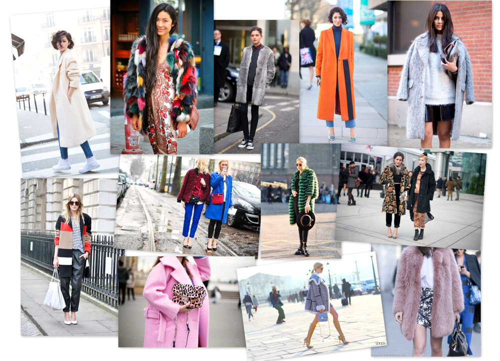 street style -coat-descalzaporelparque-shopping coat- fur coat-fashion coat-multicolor fur- fur