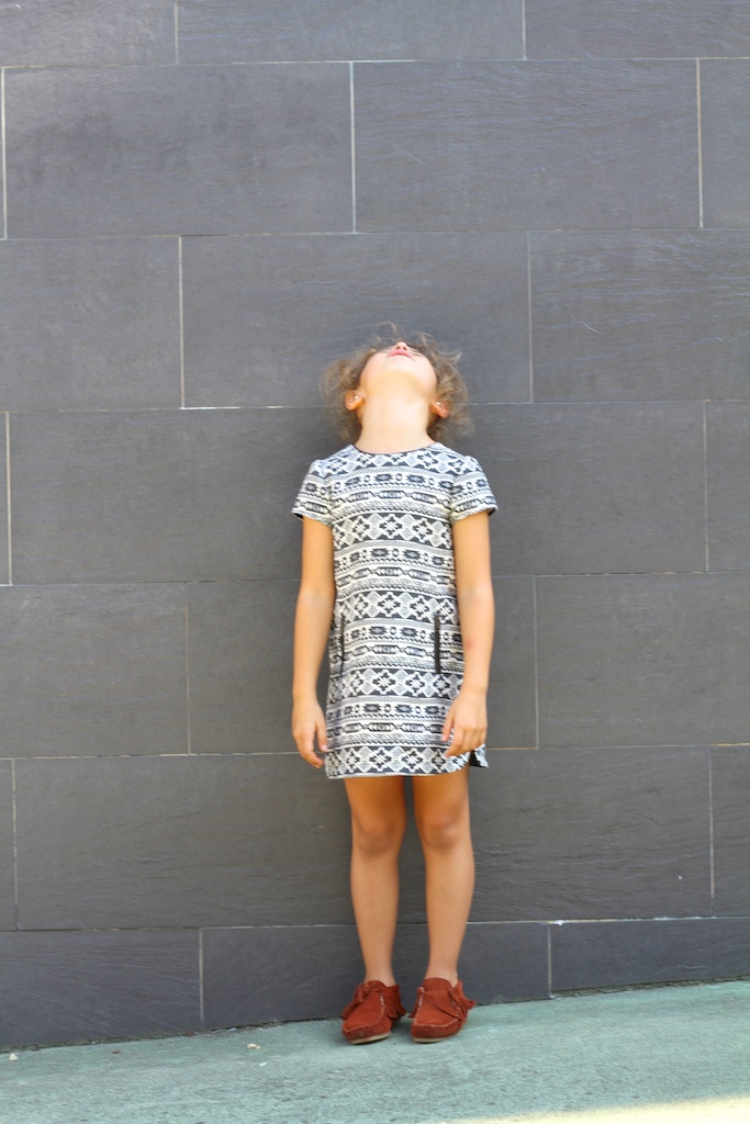 fashion, kids, zara kids, jimena, streetstyle kids, jacquard dress, children, ministre,stylelovely, girl,descalzaporelparque