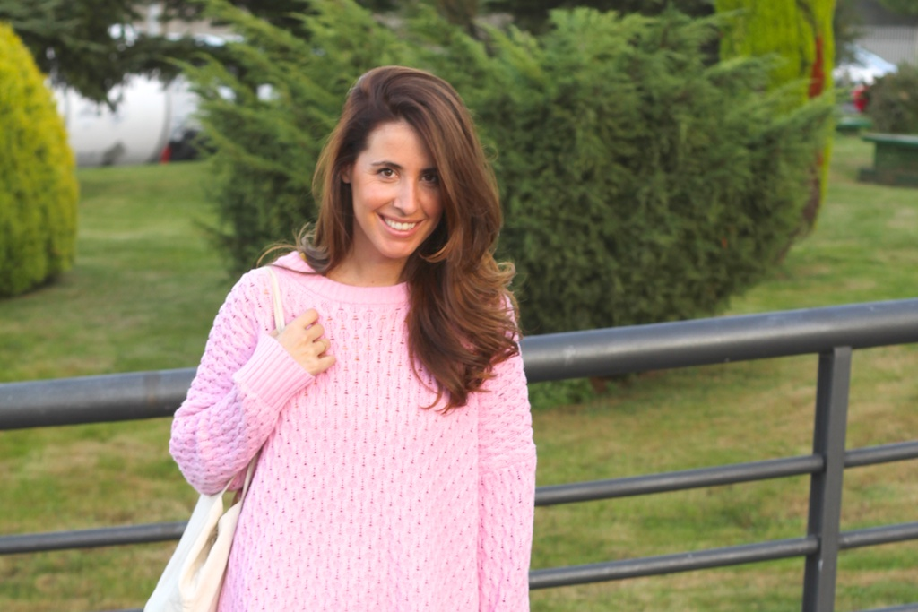 fashion,dress, yellow,style,converse,sweater,pink,zara, blogger,streetstyle,descalzaporelparque