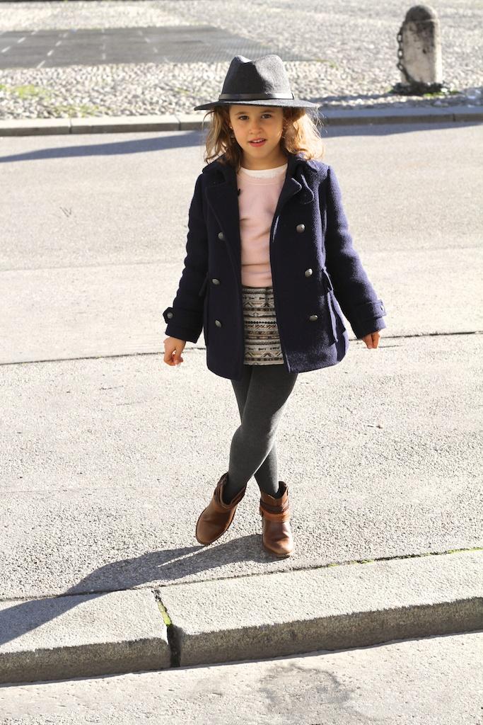 fashion, streetstyle,kids,jimena,fedora hat, Gap, ZaraKids, ministyle ,boots, Munich , viajar con niños, mommyblogger, miniblogger, descalzaporelparque
