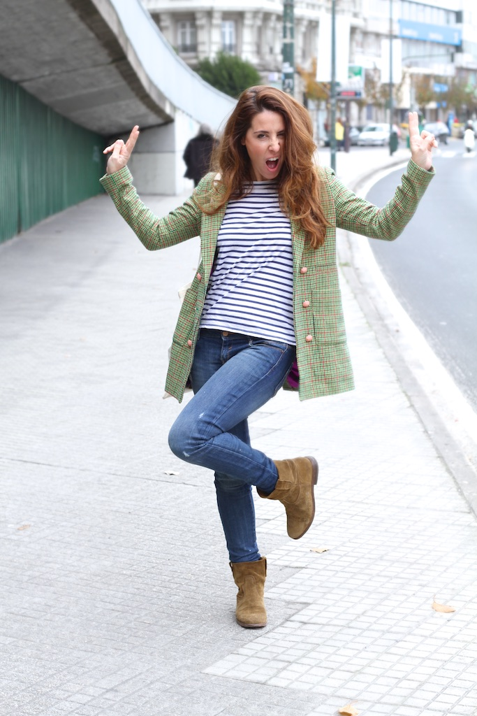 boot-isabel-marant-stripes-denim-checked-moda-calle-coruña