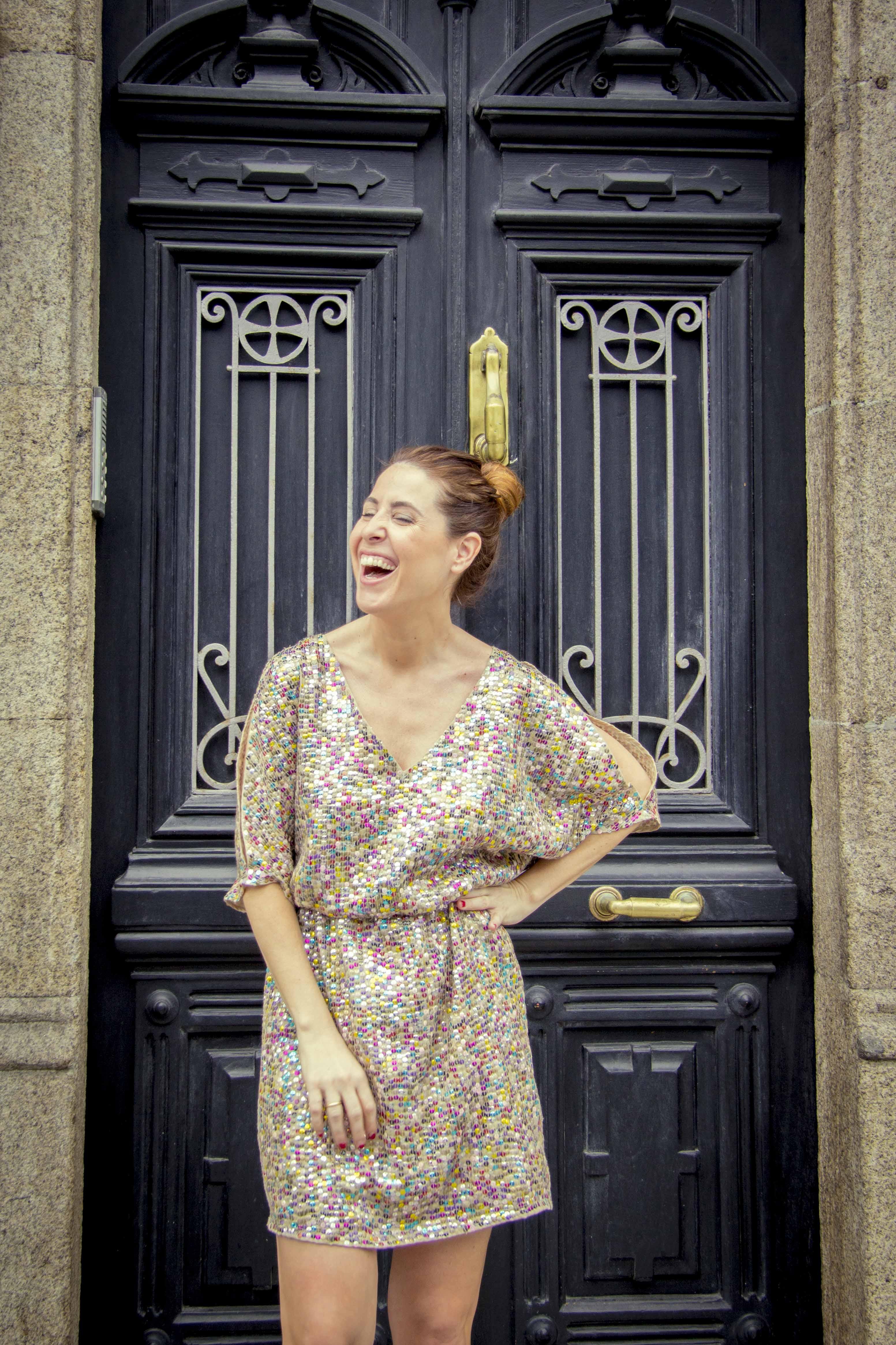 blogger-coruña-fashion-streetstyle-Hoss Intropia-descalzaporelparque-dress
