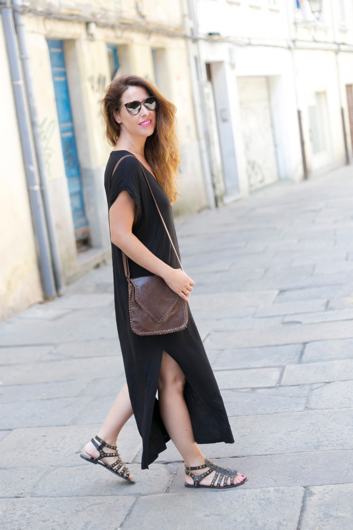 mommyblogger-descalzaporelparque-zara-look-coruña-hazel-sandal