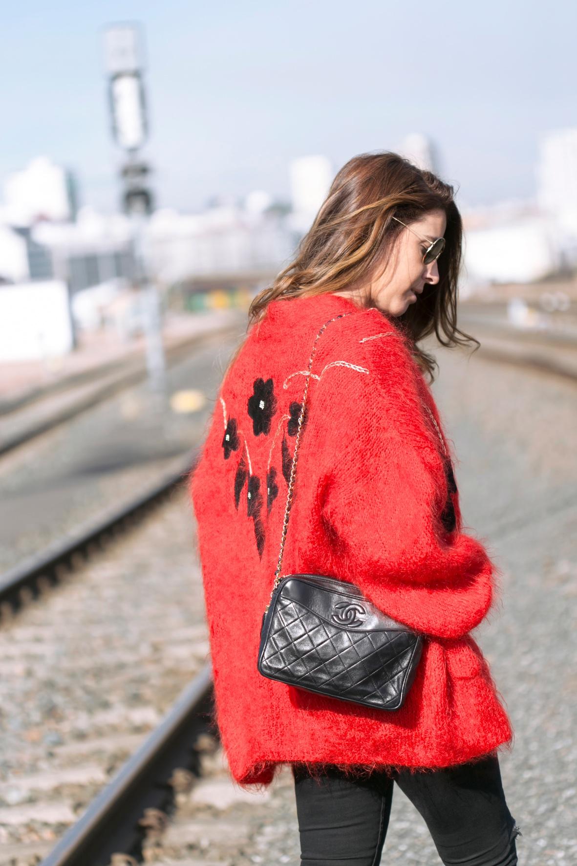 vintage-mohair-cardigan-streetstyle-descalzaporelparque-fashion-chanel