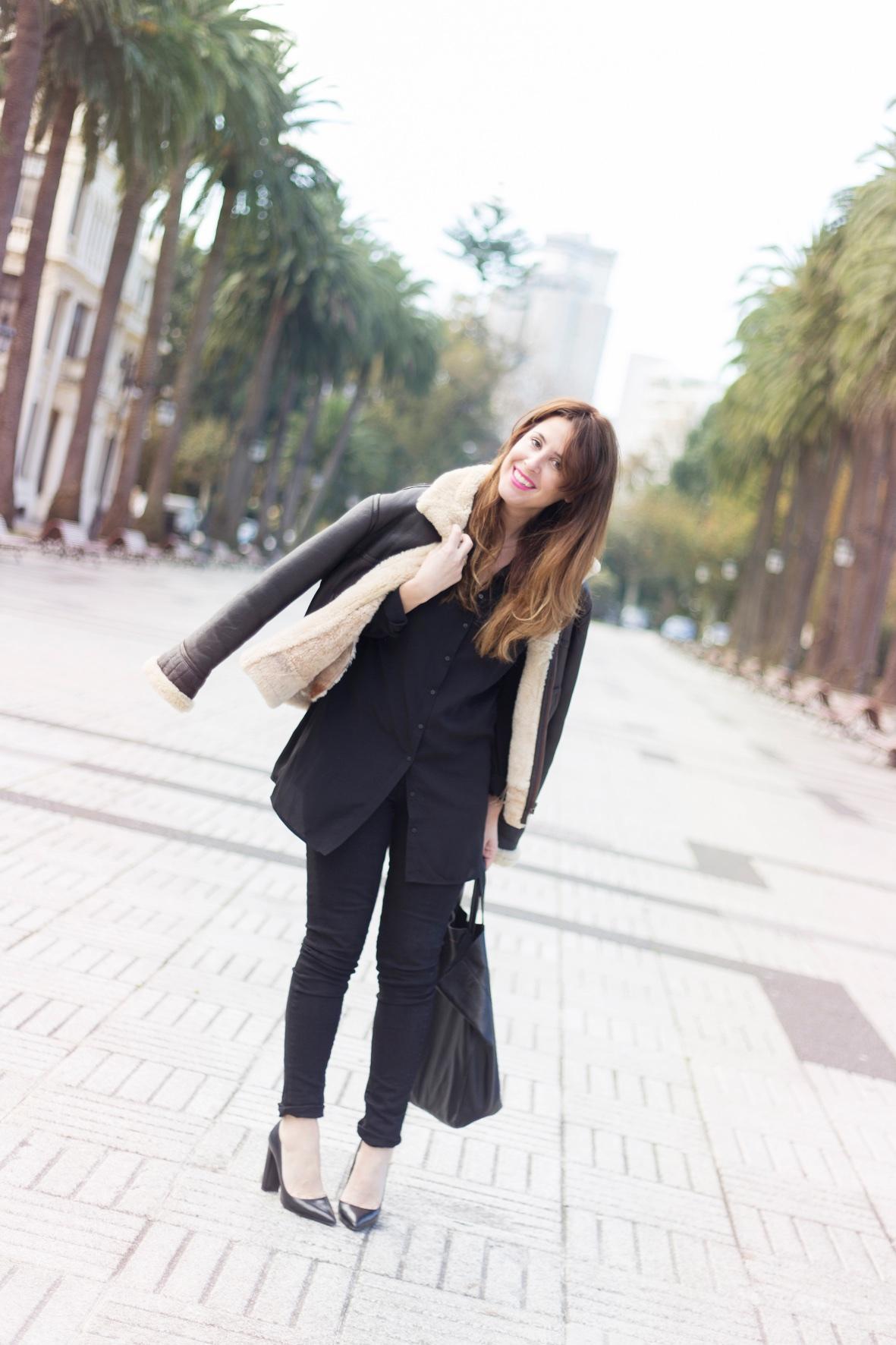 estilo-blogger-cazadora-aviador-style-street-coruña-moda-calle-cèline-descalzaporelparque